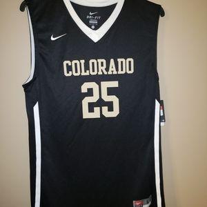 Nike Colorado Buffaloes Basketball Jersey